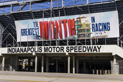 Indianapolis - Circa February 2017: Gate Two Entrance at Indianapolis Motor Speedway VI Royalty Free Stock Images