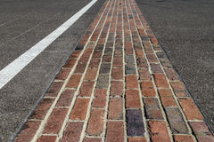 Indianapolis - Circa February 2017: The Yard of Bricks at Indianapolis Motor Speedway I Royalty Free Stock Photography