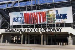 Indianapolis - circa im Februar 2017: Eingang des Flugsteig-zwei in Indianapolis Motor Speedway VI Lizenzfreie Stockbilder