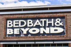 Indianapolis - circa im Juli 2017: Bed- Bath & Beyondeinzelhandels-relative Satznummer VI lizenzfreie stockbilder