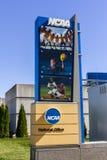 Indianapolis - circa im Oktober 2016: Nationale athletische Collegevereinigungs-Hauptsitze Der NCAA reguliert athletische Program lizenzfreie stockfotos