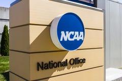 Indianapolis - circa im Oktober 2016: Nationale athletische Collegevereinigungs-Hauptsitze Der NCAA reguliert athletische Program lizenzfreies stockfoto