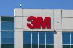 Indianapolis - Circa Juli 2017: 3M IDA Office 3M är ett globalt vetenskapsföretag och producerar mer än 55.000 produkter V Royaltyfria Bilder