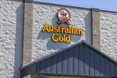 Indianapolis - Circa July 2017: Australian Gold Headquarters. Australian Gold manufactures sun tanning and protection products I. Australian Gold Headquarters Royalty Free Stock Photo