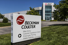 Indianapolis - Circa July 2017: Beckman Coulter Life Science Division. Beckman Coulter is involved in biomedical testing I royalty free stock photography