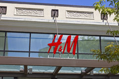 Indianapolis - Circa July 2016: H&M Retail Mall Location. H&M is an international clothing company III Stock Image