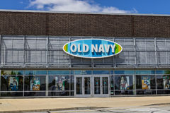 Indianapolis - Circa July 2017: Old Navy Retail Mall Location. Old Navy is a Division of Gap Inc. IV. Old Navy Retail Mall Location. Old Navy is a Division of Stock Photos