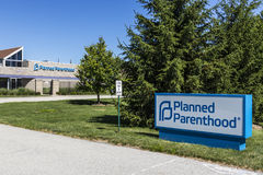 Indianapolis - Circa July 2017: Planned Parenthood Location. Planned Parenthood Provides Reproductive Health Services VIII Royalty Free Stock Image