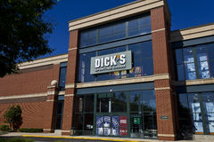Indianapolis - Circa June 2016: Dick's Sporting Goods Retail Location III Royalty Free Stock Photo