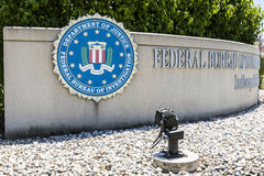 Indianapolis - Circa June 2017: The FBI is the prime federal law enforcement agency in the US II Royalty Free Stock Image