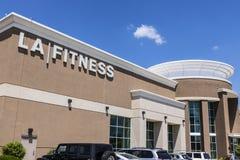 Indianapolis - Circa June 2017: LA Fitness Health Club Location II Stock Images