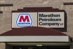 Indianapolis - Circa June 2017: Marathon Petroleum Regional Offices. Marathon Petroleum Refines and Markets Oil Products IV. Marathon Petroleum Regional Offices royalty free stock photos