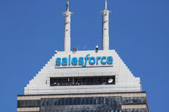 Indianapolis - Circa June 2017: Recently renamed Salesforce Tower. Salesforce.com is a cloud computing company I. Recently renamed Salesforce Tower. Salesforce stock images