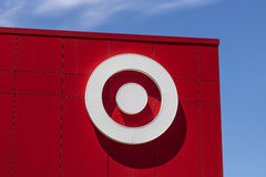 Indianapolis - Circa June 2017: Target Retail Store. Target Sells Home Goods, Clothing and Electronics XV. Target Retail Store. Target Sells Home Goods, Clothing Royalty Free Stock Photography
