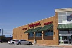 Indianapolis - circa luglio 2016: Posizione III di vendita al dettaglio di Walgreens immagine stock