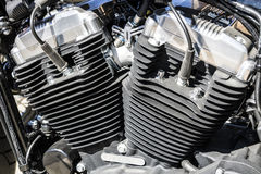Indianapolis - Circa Maart 2017: Motor van Harley Davidson Harley Davidson V Stock Afbeeldingen