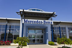 Indianapolis - Circa May 2016: Mercedes-Benz Luxury Car Dealership III Royalty Free Stock Image