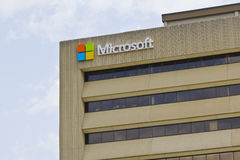 Indianapolis - Circa May 2016: Microsoft Midwest District Headquarters I Royalty Free Stock Photos