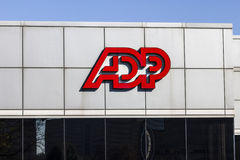 Indianapolis - Circa November 2016: ADP Location. ADP is a Provider of Business Outsourcing Services III stock photography