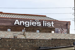 Indianapolis - Circa November 2016: Angie`s List Corporate Office and Headquarters VI Royalty Free Stock Photo