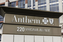 Indianapolis - Circa November 2016: Anthem World Headquarters. Anthem is a Trusted Health Insurance Plan Provider X Stock Photos