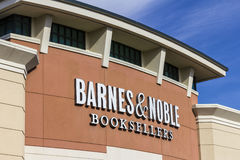 Indianapolis - Circa November 2016: Barnes & Noble Retail Location. Barnes & Noble is a leading retailer of books V Stock Photography