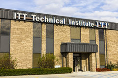 Indianapolis - Circa November 2016: ITT Educational Services Location. ITT Technical Institute has closed all its campuses IV Stock Image