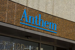 INDIANAPOLIS - CIRCA OCTOBER 2015: Anthem World Headquarters, Indianapolis. IN royalty free stock photo