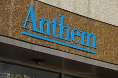 INDIANAPOLIS - CIRCA OCTOBER 2015: Anthem World Headquarters,  Indianapolis, Stock Photo