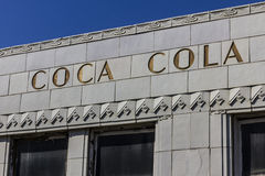 Indianapolis - Circa October 2016: The former Coca-Cola bottling plant with art deco features. The Coke plant opened in 1931 IV Stock Photography