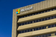 Indianapolis - Circa October 2016: Microsoft Midwest District Headquarters IV Royalty Free Stock Photo