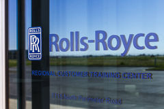 Indianapolis - Circa October 2016: Rolls-Royce Corporation Regional Customer Training Center. Rolls-Royce is a Global Company IV Stock Photography