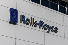 Indianapolis - Circa October 2016: Rolls-Royce Corporation Regional Customer Training Center. Rolls-Royce is a Global Company VII Stock Photography