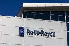 Indianapolis - Circa October 2016: Rolls-Royce Corporation Regional Customer Training Center. Rolls-Royce is a Global Company VIII Stock Images