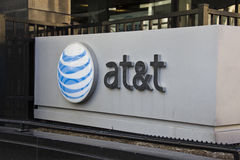 INDIANAPOLIS - CIRCA OCTOBER 2015: AT&T Indianapolis Headquarters. Stock Photography