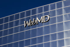 Indianapolis - circa octubre de 2016: Servicios médicos de WebMD y operaciones el entrenar I Imagen de archivo libre de regalías