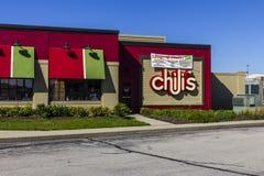 Indianapolis - Circa Oktober 2016: De Grill van de Spaanse peper & Bar Toevallig het Dineren Restaurant II Royalty-vrije Stock Foto