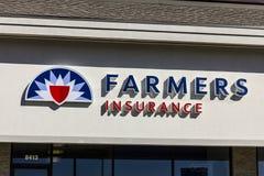 Indianapolis - circa ottobre 2016: Agente Location del gruppo di assicurazione degli agricoltori Gli agricoltori fornisce a casa, Fotografia Stock