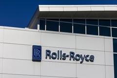 Indianapolis - circa ottobre 2016: Centro di formazione regionale del cliente di Rolls-Royce Corporation Rolls Royce è una societ Immagini Stock