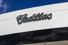 Indianapolis - Circa September 2016: Cadillac Automobile Dealership. Cadillac is the Luxury Division of General Motors I Stock Photos