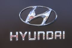 Indianapolis - Circa September 2017: Hyundai Motor Company Dealership. Hyundai is a South Korean Manufacturer XI Stock Images