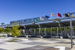 Indianapolis - Circa September 2016: Indianapolis Motor Speedway Gate 1 Entrance VI Royalty Free Stock Images