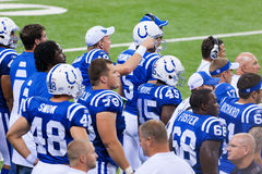 Indianapolis Colts. Indianapolis, IN - September 2, 2010 Stock Photo
