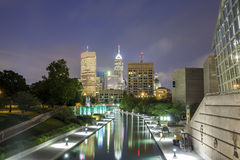 Indianapolis Downtown, Indiana, USA Royalty Free Stock Images