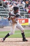 Indianapolis Indiërs outfielder Gorkys Hernandez royalty-vrije stock foto