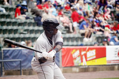 Indianapolis Indiërs tweede baseman Josh Harrison royalty-vrije stock foto