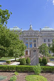 Indianapolis, Indiana capitol budynek obrazy royalty free