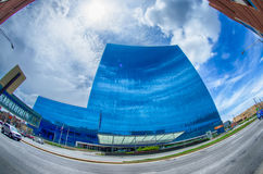 INDIANAPOLIS, INDIANA, JUNE 20, 2014: Indianapolis downtown and Stock Images