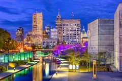 Indianapolis, Indiana, los E.E.U.U. Imágenes de archivo libres de regalías