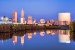 Indianapolis, Indiana, U.S.A. Fotografie Stock Libere da Diritti